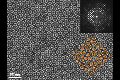 Quasicrystal nanocrystal superlattice figf 630m